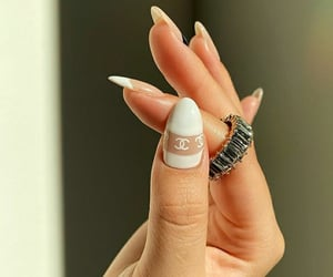 beauty, chanel, and nails image