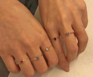 rings, accessories, and hands image
