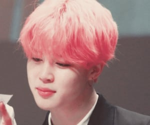 pink hair, bts, and twitter icons image