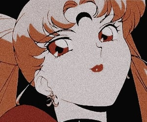 aesthetic, dark icons, and sailor moon image