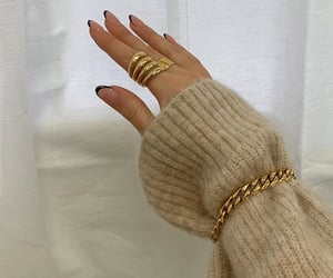 bracelet, nails, and accessories image