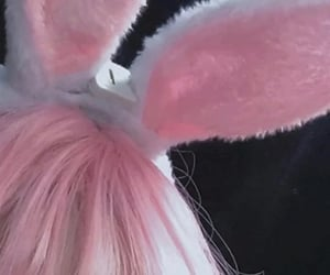 aesthetic, details, and bunny ears image