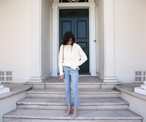 jeans and sweater image