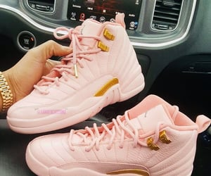 pink, shoes, and jordan image