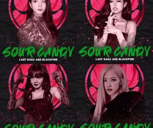 Lady gaga, sour candy, and blackpink image