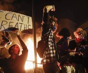 america, black lives matter, and gorge floyd image