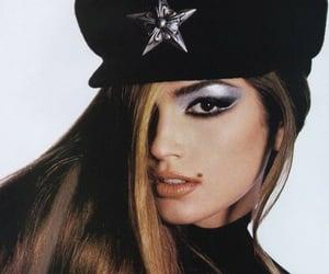 cindy crawford, model, and makeup image