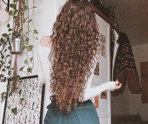 summer, beauty, and hair image