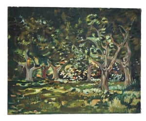 etsy, landscape art, and tree art image