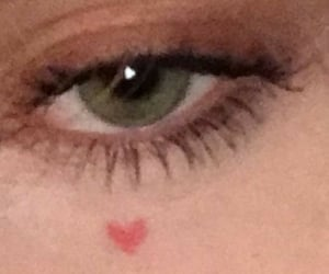 eyes, aesthetic, and makeup image