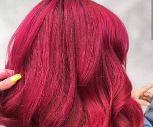 colored hair, hair, and hairstyles image