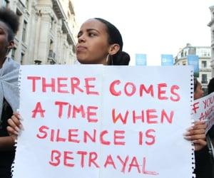 black lives matter, equality, and protest image