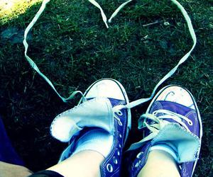 all stars, heart, and shoes image