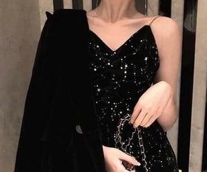 dress, sparkles, and fashion image