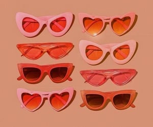 orange, pink, and summer image