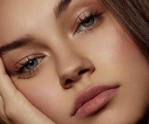 eyelashes, pretty, and fashion image
