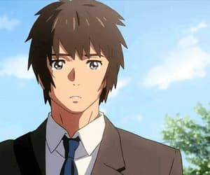 anime, cry, and gif image
