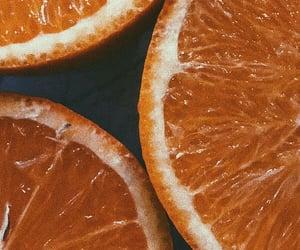 orange, aesthetic, and background image