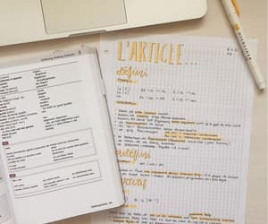 french, studygram, and studynotes image