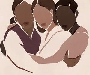 art, women, and black lives matter image