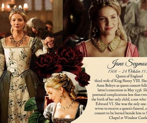 girl woman, The Tudors, and queen jane seymour image