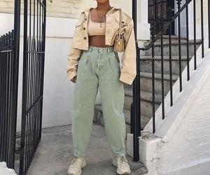 bag, denim, and fashion image