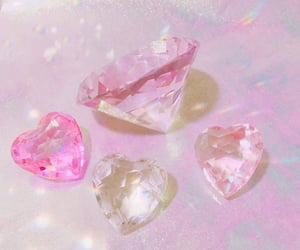 aesthetic, gems, and pink image