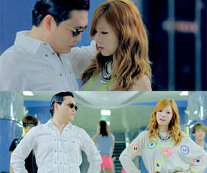 kpop, psy, and hyuna image