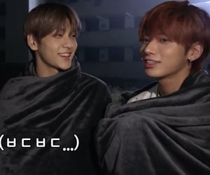 taebin, tomorrow x together, and soobin image