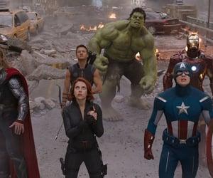 Hulk, black widow, and thor image