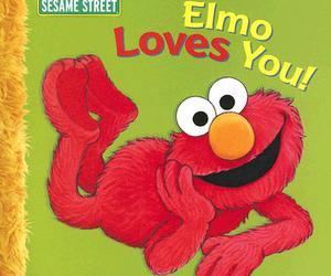elmo, childhood love, and elmo loves you image