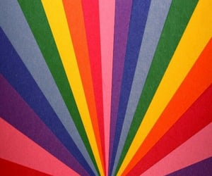 wallpaper, colors, and rainbow image