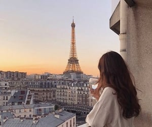 aesthetic, beautiful, and eiffel tower image