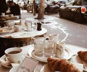 coffee, food, and paris image