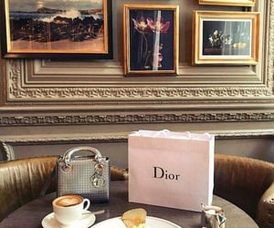 breakfast, croissant, and dior image