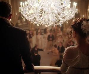 balcony, beautiful, and couple image