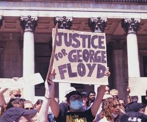 justice, justiceforgeorgefloyd, and blacklivesmatter image