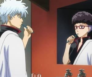 anime, gintoki, and gintama image