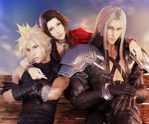cloud strife, final fantasy VII, and ffvii image