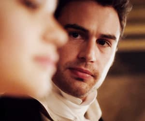 Hot, period drama, and theo james image