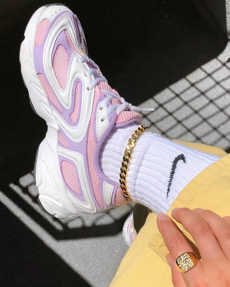 nike, pastel, and shoes image