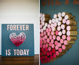heart, mural, and quadro image