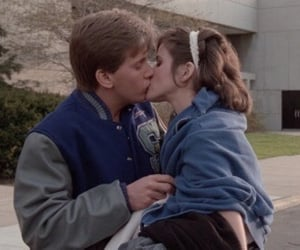 The Breakfast Club, kiss, and 80s image