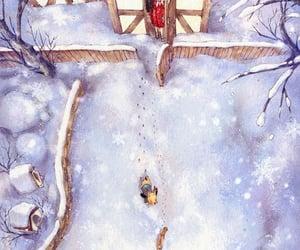 anime, SNOW, and girl image