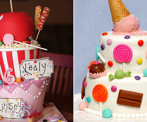 bolo, cakes, and candy image