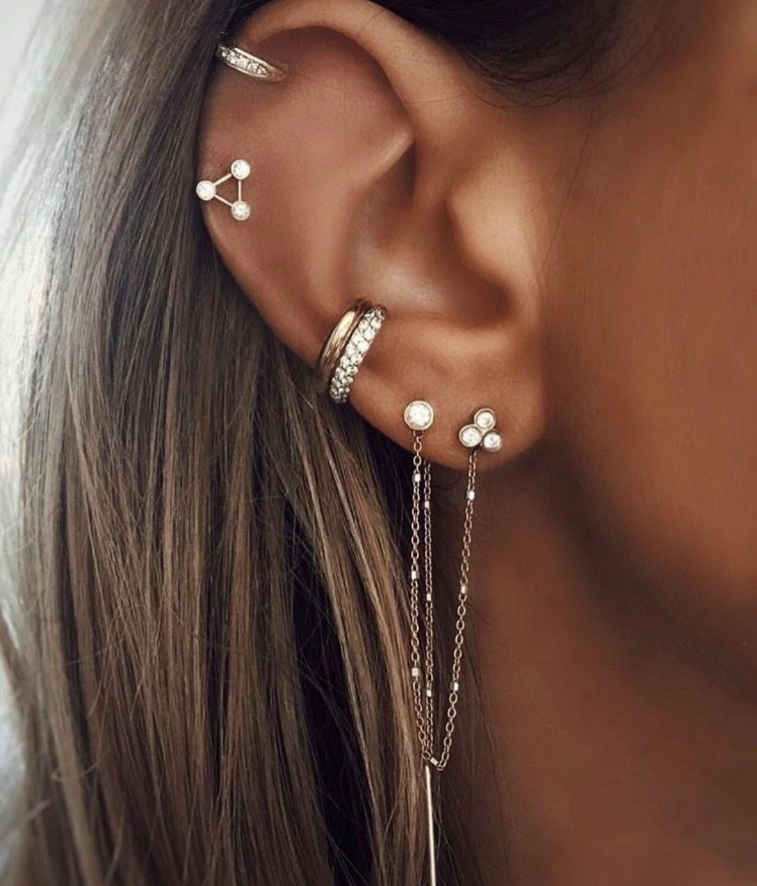 piercing, jewelry, and earrings image