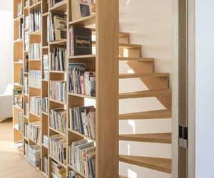 aesthetic, book, and bookcases image