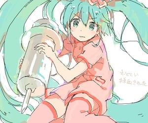anime, hatsune miku, and 初音ミク image