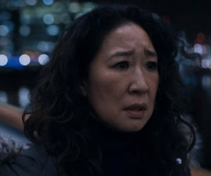 sandra oh, jodie comer, and killing eve image