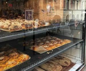 bakery, showcase, and cafe image